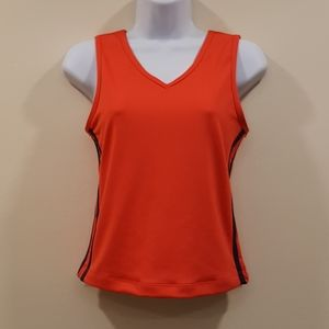 Tangerine Orange Athletic Top